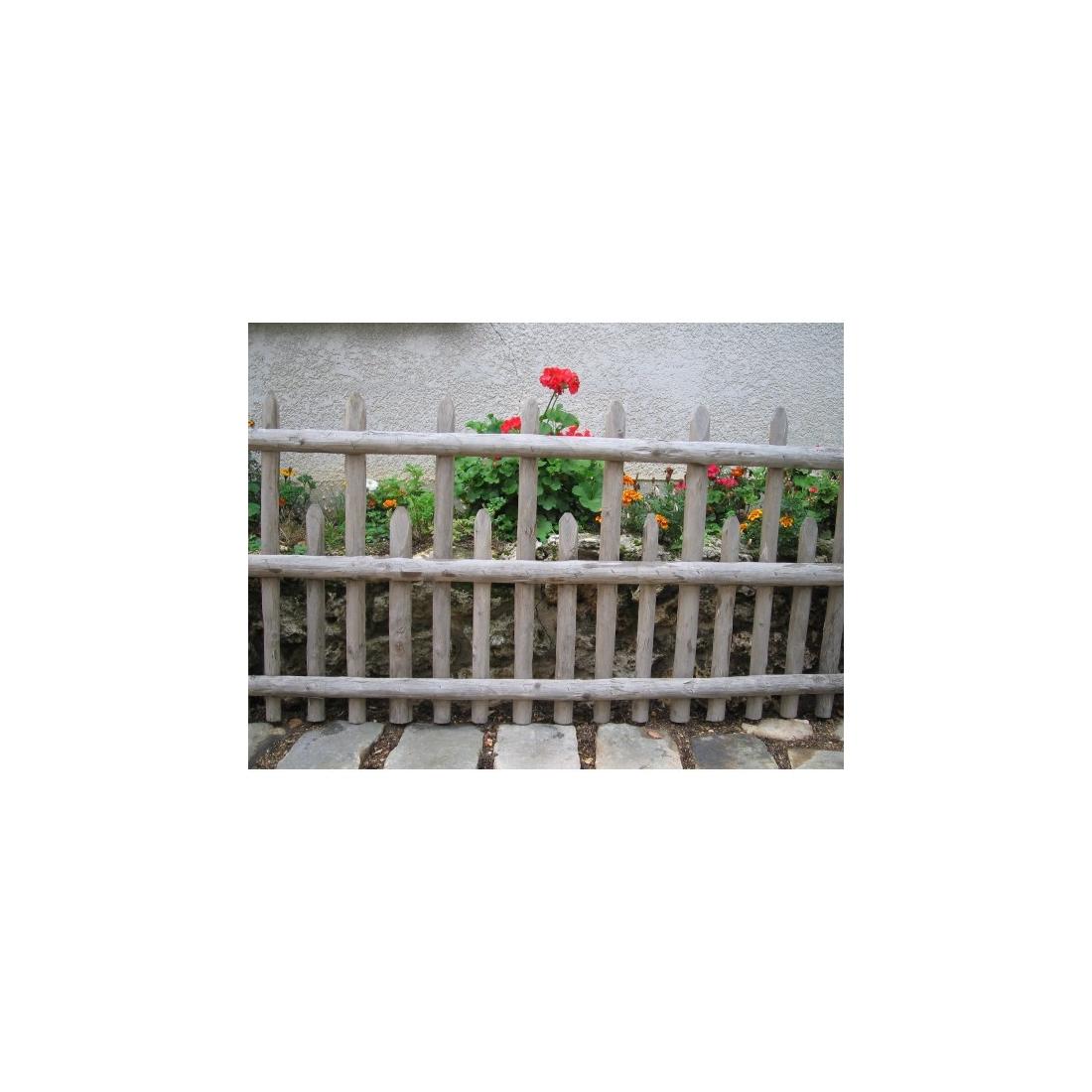 Cloture altern e pour jardin for Cloture naturelle