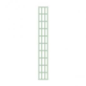 Pilastre mailles 18x6 cm